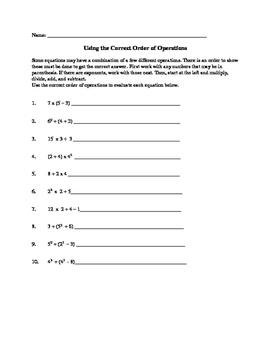 Algebra Worksheets: Grades 4, 5, 6 MORE Morning Work, Assessment, Remediation