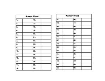 Algebra- Writing Algebraic Expressions- Grade 6 -60 Math Task Cards