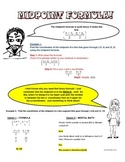 Algebra and Geometry: Cartoon Notes for Basic Midpoint Problems