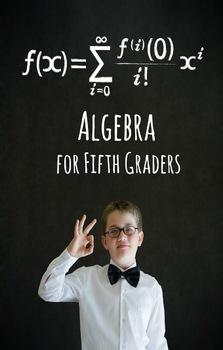 Algebra for Fifth Graders