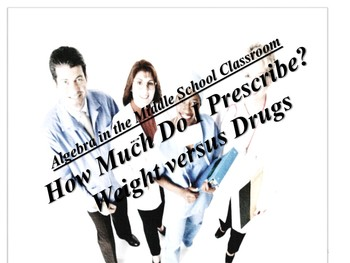 Algebra in the Middle School: How Much Do I Prescribe?