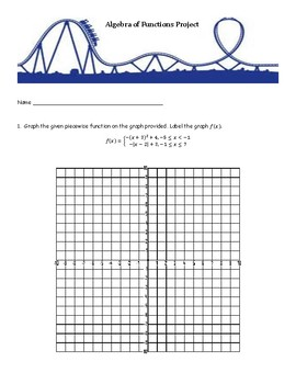 Algebra of Functions Project