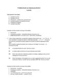 Algebra (quadratics) - PBL - As level