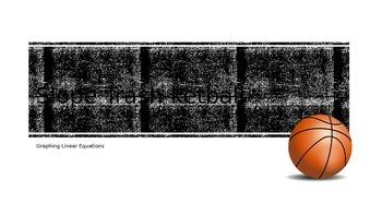 Algebra review:  Slope Trashketball