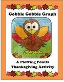 Thanksgiving Coordinates or Plotting Points Activity, Turkey