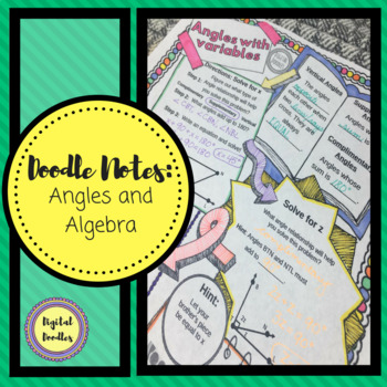 Algebraic Angles ~DOODLE NOTES~