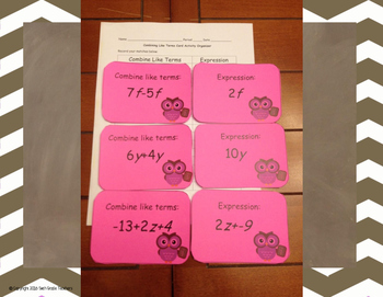 Algebraic Concepts Bundle