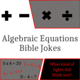 Algebraic Equations Bible Jokes