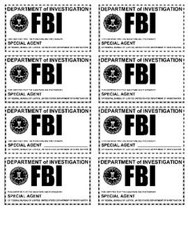 Algebraic Equations FBI theme
