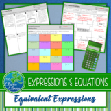 Equivalent Expressions Practice Worksheets