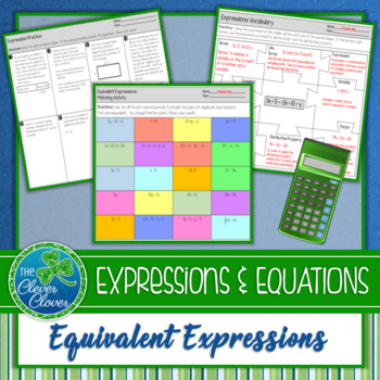 Equivalent Expressions - 7.EE.1