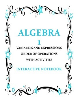 Algebraic Experssions and Order of Operations
