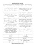 Algebraic Expression Match