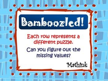 Algebraic Expression Puzzles: Bamboozled
