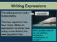 Algebraic Expressions: An Introduction
