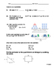 Algebraic Expressions Assessment or Check-Up Quiz