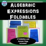 Algebraic Expressions Foldables