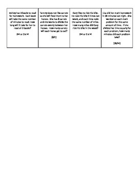 Algebraic Expressions Game