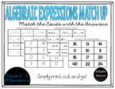 Algebraic Expressions Match Up {Grade 3-4}