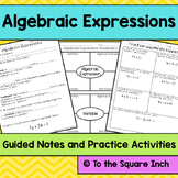 Algebraic Expressions Notes
