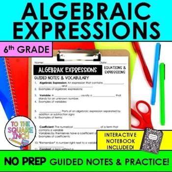 Algebraic Expressions Notes