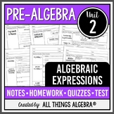 Algebraic Expressions (Pre-Algebra Curriculum - Unit 2)