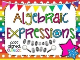 Algebraic Expressions Scavenger Hunt Activity