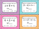EDITABLE Algebraic Expressions Task Cards WITH Cooperative