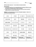 Algebraic Expressions – The Commutative and Associative Pr