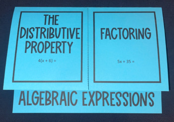 Algebraic Expressions- The Distributive Property vs. Facto