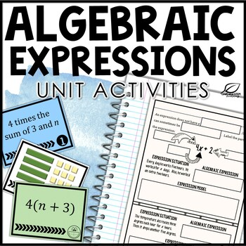 Algebraic Expressions Unit