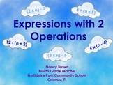 Algebraic Expressions with two operations