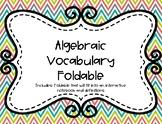Algebraic Foldable (Interactive Notebook)