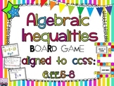 Algebraic Inequalities Board Game