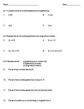 Algebraic Inequalities and Notation