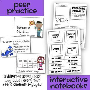 Algebraic Patterns - Everything But the Dice - Fourth Grade Math