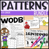 Algebraic Patterns - Everything But the Dice - Fourth Grade Math