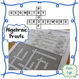 Algebraic Proofs Crossword Puzzle