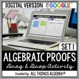 Algebraic Proofs Drag and Drop (SET 1): DIGITAL VERSION (f