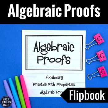 Algebraic Proofs Flipbook