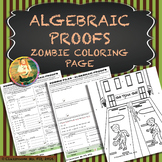 Algebraic Proofs ~ Zombie Coloring Page