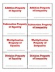 Algebraic Properties Flashcards