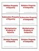 Algebraic Properties Flashcards