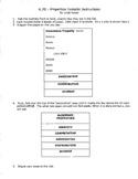 Algebraic Properties Foldable