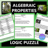 Algebraic Properties Logic Puzzle Activity