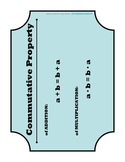 Algebraic Properties Posters