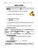 Algebraic Properties guided notes