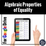 Algebraic Properties of Equality Digital Foldable for Dist