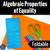 Algebraic Properties of Equality Interactive Foldable