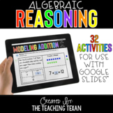 Algebraic Reasoning Activities for Google and Distance Learning